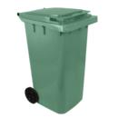 Контейнер для мусора пластиковый 240 л