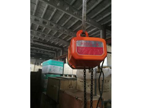 Таль электрическая цепная стационарная HHXG-K1 г/п 1 т, в/п 6 м