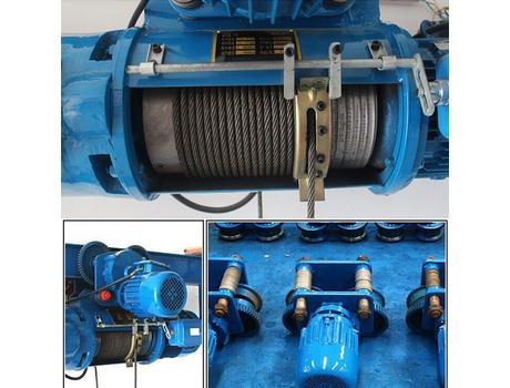 Таль электрическая канатная передвижная CD г/п 0,5 т, в/п 6 м