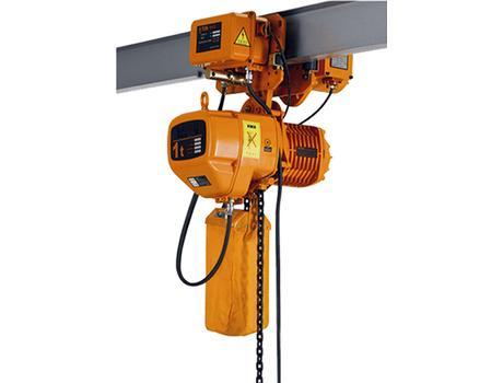 Таль электрическая цепная передвижная двухскоростная HHBB г/п 1 т, в/п 6 м