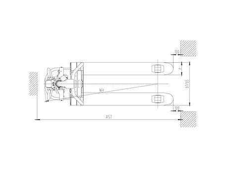 Тележка самоходная CBD15W-li, г/п 1,5 т