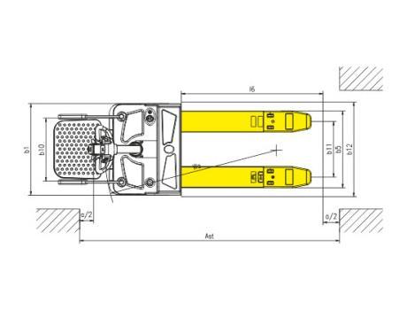 Тележка самоходная CBD20R-I, г/п 2 т