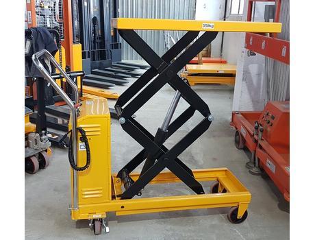 Гидравлический подъёмный стол с электроподъемом