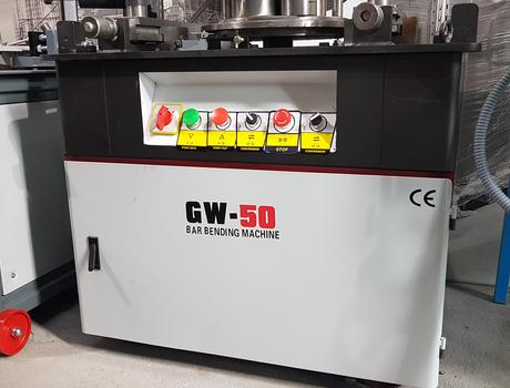 Станок для гибки арматуры GW50