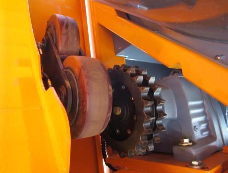 Стационарный грохот (сепаратор барабанный) SM 620 A - ведущий привод