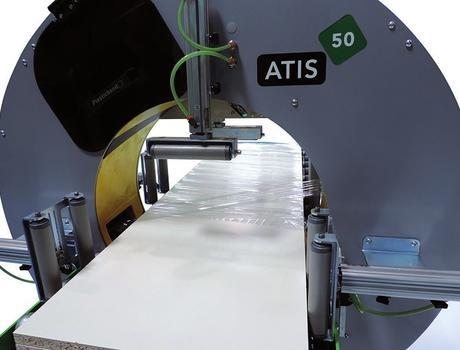 горизонтальный паллетообмотчик ATIS