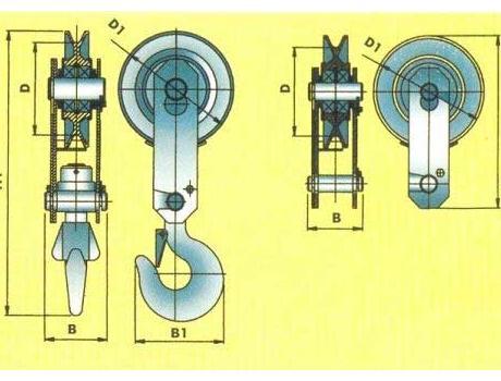 Блок монтажный БМ-5,0-01, г/п 5т