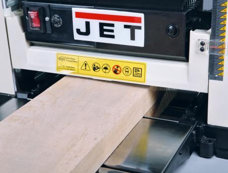 Переносной рейсмусовый станок JET JWP-12