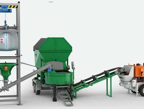 Мобильный бетонный завод MOBILBET0N 15/750 TRAIL - Комплектация 2