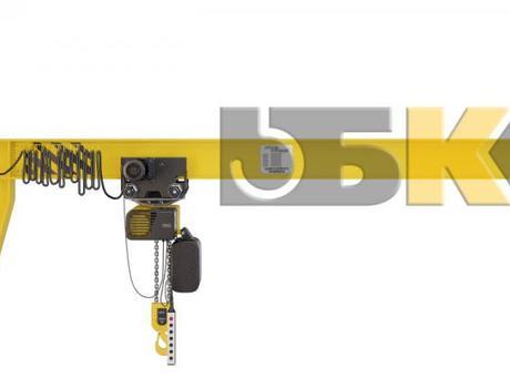 Кран консольный настенный ККМ5 (электрический)