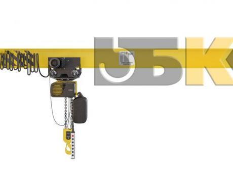 Кран консольный настенный ручной ККР1