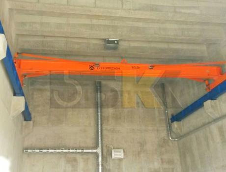 Кран-балка электрическая опорная г/п 2 тонны пролет 4,5; 7,5 метров