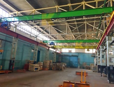 Кран-балка электрическая опорная г/п 5 тонн пролет 4,5; 7,5 метров