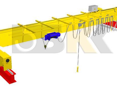 Кран-балка электрическая опорная г/п 1 тонна пролет 4,5; 7,5 метров