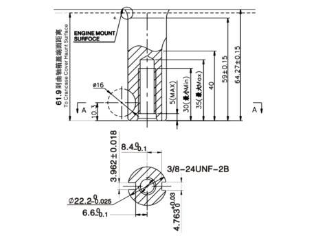 Двигатель бензиновый LC1P70FA (B тип)