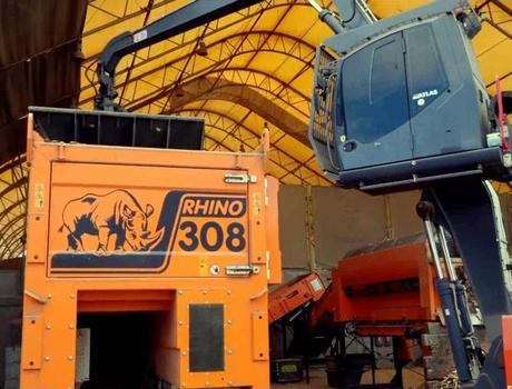 Измельчитель (шредер) DW 308 Rhino