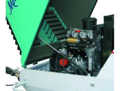 Пневмонагнетатель MOVER 190e/ MOVER 190eb - двигатель