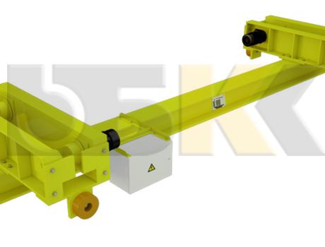 Кран-балка электрическая подвесная г/п 1-10 тонн - изображение