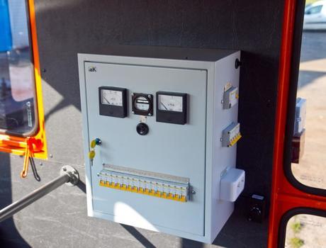 Путевая ремонтная машина ПРМ-5М - отопитель