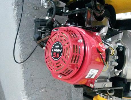 Вибротрамбовка RM-80 - двигатель