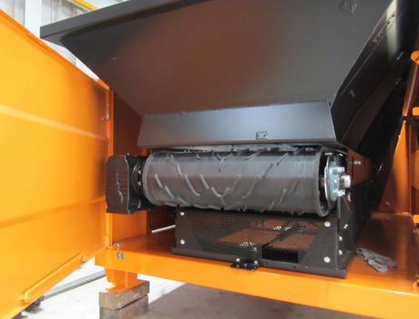Стационарный грохот (сепаратор барабанный) SM 518 F - живой подвижный пол