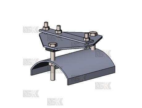 Тележки С-рельса СВ-40 концевая