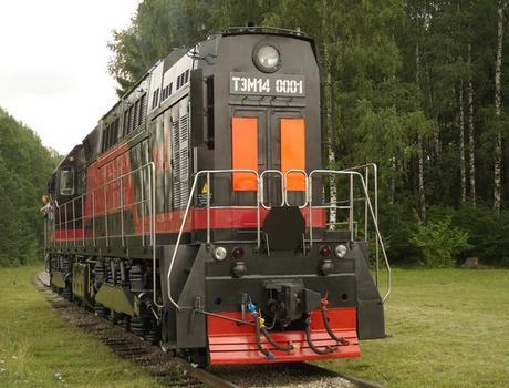 Маневровый тепловоз ТЭМ-14