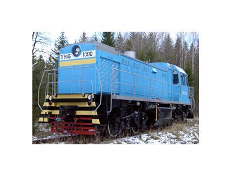 Маневровый тепловоз ТГМ-4Б