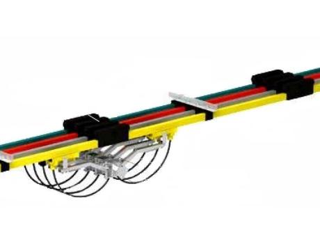 Троллейный шинопровод открытый RMSO (Польша)