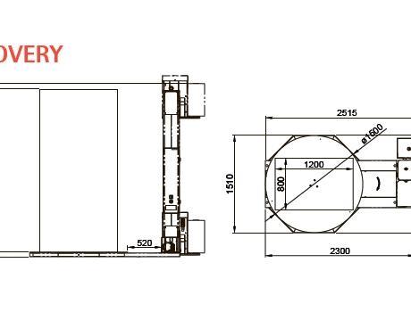 Паллетообмотчик вертикальный Discovery