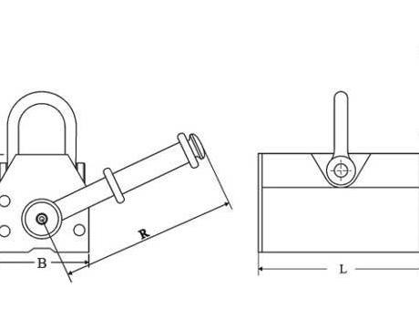 Захват магнитный PML-6, г/п 600кг
