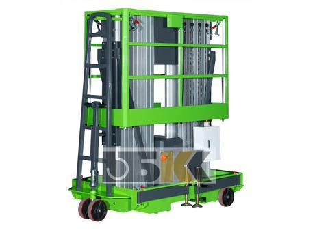 Телескопический подъемник ME1400-2 в/п 14м, г/п 150 кг
