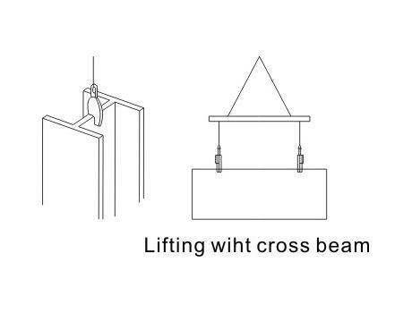 Захват для вертикального подъема листового металла JCD, г/п 3,2т