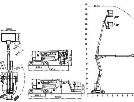 Коленчатый подъемник IMER IT 150 E