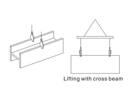 Захват для вертикального подъема листового металла JCD, г/п 2т