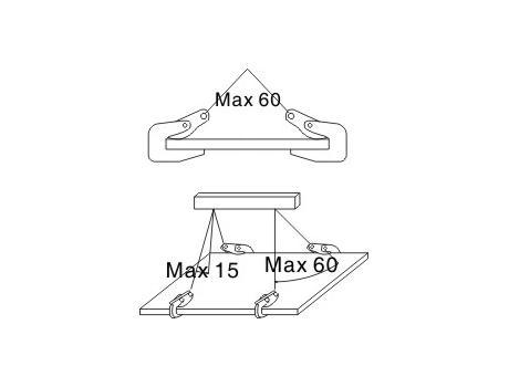 Захват для горизонтального подъема листового металла PPD