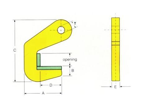 Захват для стальных и бетонных труб THP