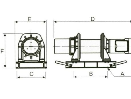 Лебедка электрическая KDJ-500Е