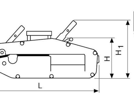 Монтажно-тяговый механизм (МТМ) г/п 1,6 т, 20 м