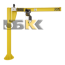 Кран консольный на колонне ККМ6 (электрический)